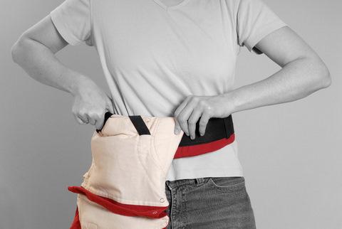 Инструкция Manduca (Мандука) - Как одеть пояс