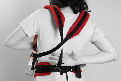 Инструкция Manduca (Мандука) - Ношение спереди c перекрещенными лямками